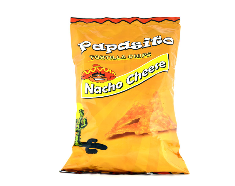 PAPASITO TORTILLA NACHO CHEESE CHIPS