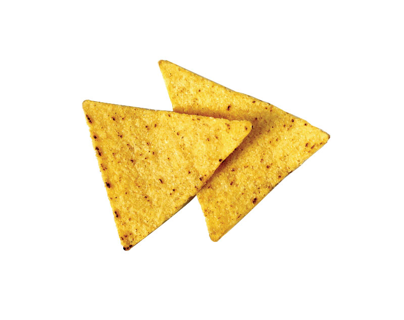 TRIANGLE PRECUT CORN CHIPS