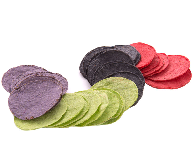 COLORED CORN TORTILLA